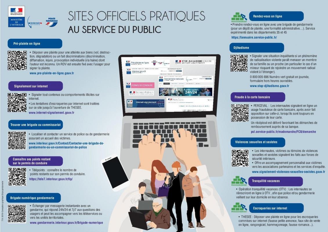 Sites officiels pratiques 2